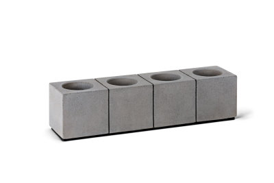 Block Four Tea Light Holders Set
