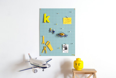 Blue Pegboard Large
