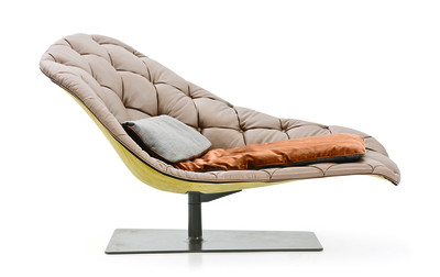 Bohemian Chaise Longue A4500 - Art.48045 - 206 beige, Sand Grey Base