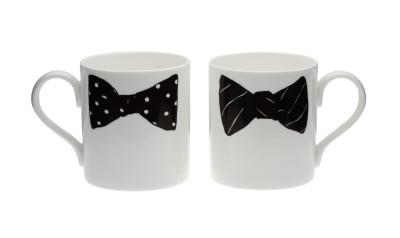 Boris Alexander Bow Tie Mug