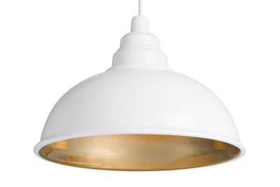 Botega Pendant Lamp White and Gold