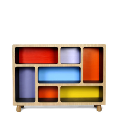 Boulder Display Unit  Red, Blue, Yellow, Low
