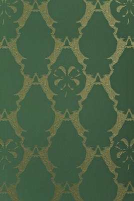 Boxing Hares Wallpaper Billiard Green