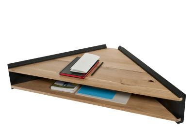 Briccola-ge Desk Shelf Grey Side