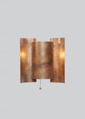 Butterfly Wall Light Copper