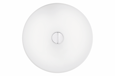 Button Wall Light White