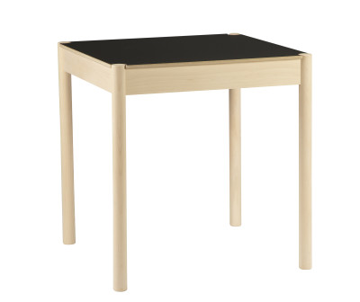 C44 Square Dining Table Black Top