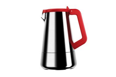 Caffeina Coffee Machine 2 Cups, Red