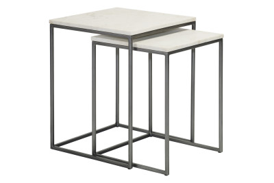 Chelsea Nest of Two Square Side Tables