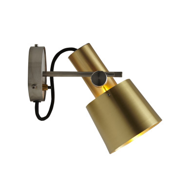 Chester Wall Light Satin Brass