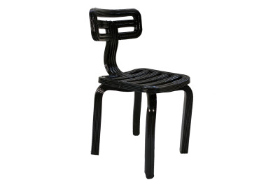 Chubby Dining Chair Black