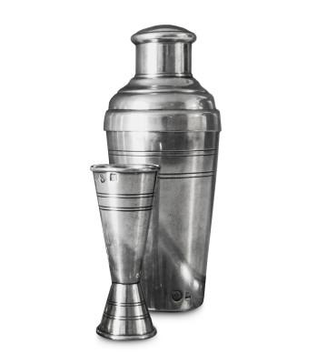 Cobbler Shaker with Jigger