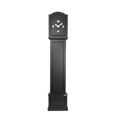 Colour Your Life Standing Clock Black