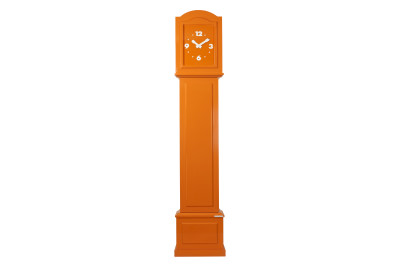 Colour Your Life Standing Clock Orange