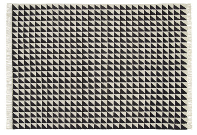 CP04 Iza Carpet Black & White, 120x80 cm