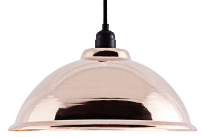 CU003  Industrial Copper Pendant Lamp