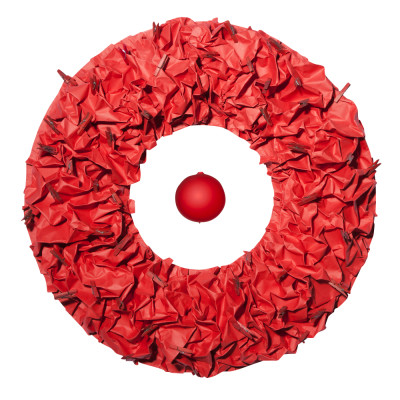 D-Donut Wall Decor Red