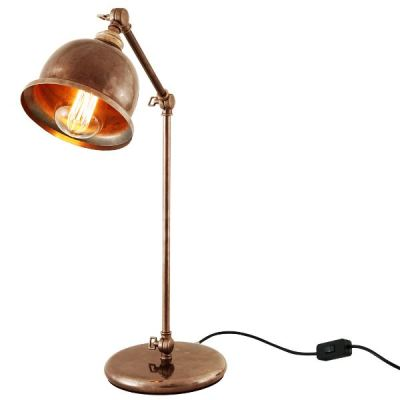 Dale Table Lamp  Satin Brass