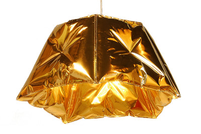 Dent 53 Pendant Light Gold