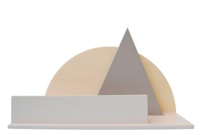 Desk Organiser Orange, Grey