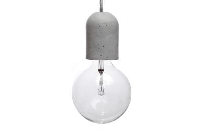 Dolio L Concrete Pendant Light 100 cm Cable Lenght