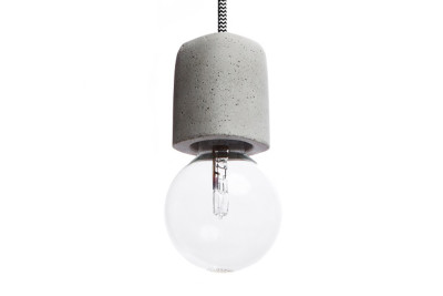 Dolio Q Concrete Pendant Light 100 cm Cable Lenght