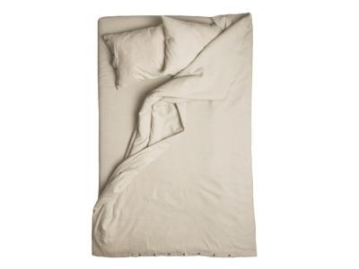 Duvet cover Sand brown Single 140x200cm