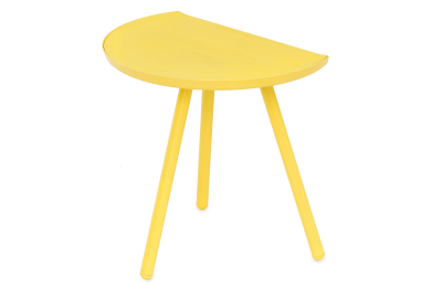 Eclipse Side Table Yellow