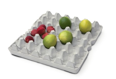 Eggshell Concrete Egg Box