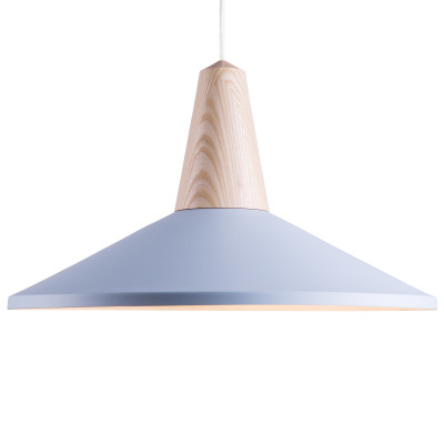 Eikon Shell Pendant Light Blue