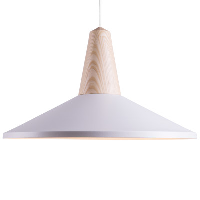 Eikon Shell Pendant Light White