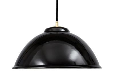 Emailleleuchte EM013 Black Cable