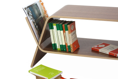 Embrace Magazine Rack Walnut
