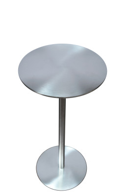 Ester Side Table Stainless Steel, High