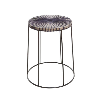 Fade Stool Deep Purple