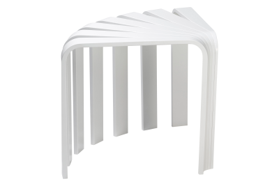 Fan Stool White