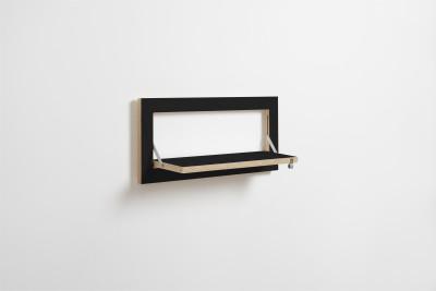 Fläpps Shelf 60x27-1 Black
