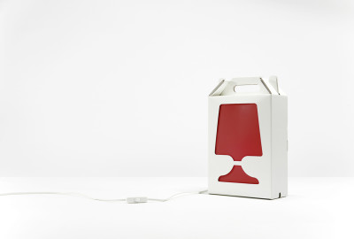 Flamp - Table Lamp Red