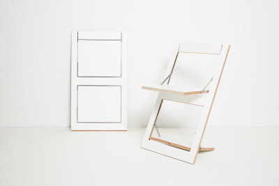 Fläpps Folding Chair White