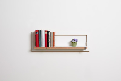 Fläpps Rectangular Shelf 80 x 27 cm