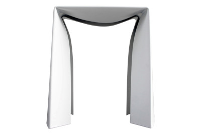 Folded Stool  White