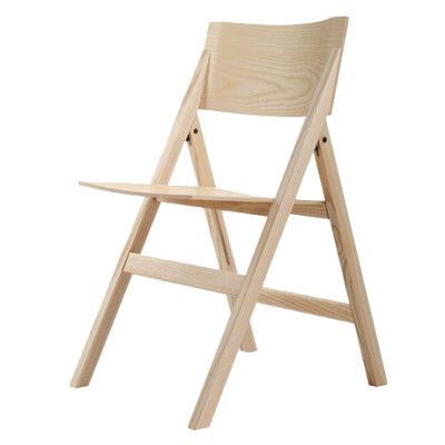Folding Chair Natural Backrest