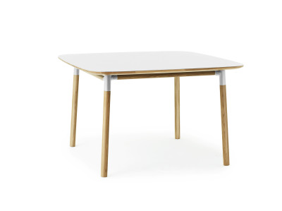 Form Table 120 x 120 cm white