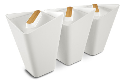 Forminimal Storage Jars White