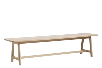 Frame Bench Soaped Beech, Small