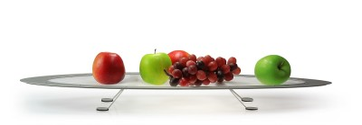 "Fruit tray/-holder ""TRAMPOLINO long"""