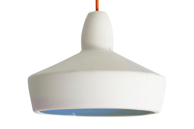 Full Spun Pendant Light Blue