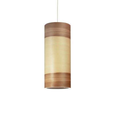 Funk 16/40P Pendant Light Satin Walnut