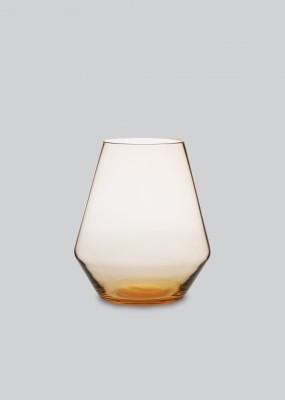 Fyr Candle Lantern Burnt Orange
