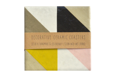Geometric Tile Coasters